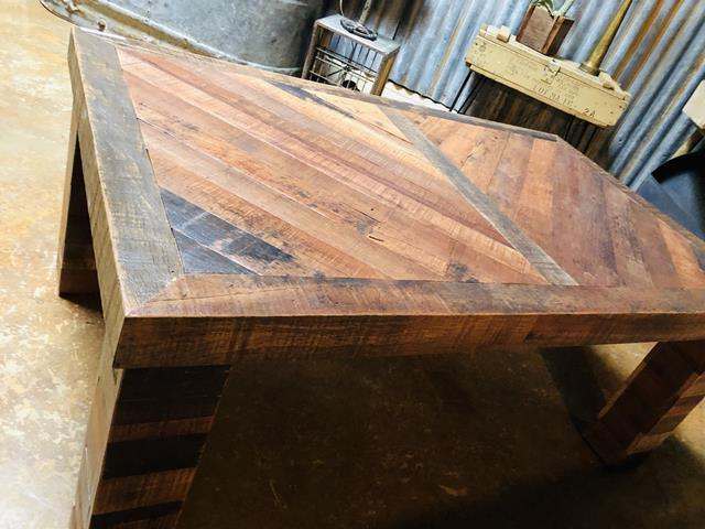 JOELS WINE BARREL COFFEE TABLE